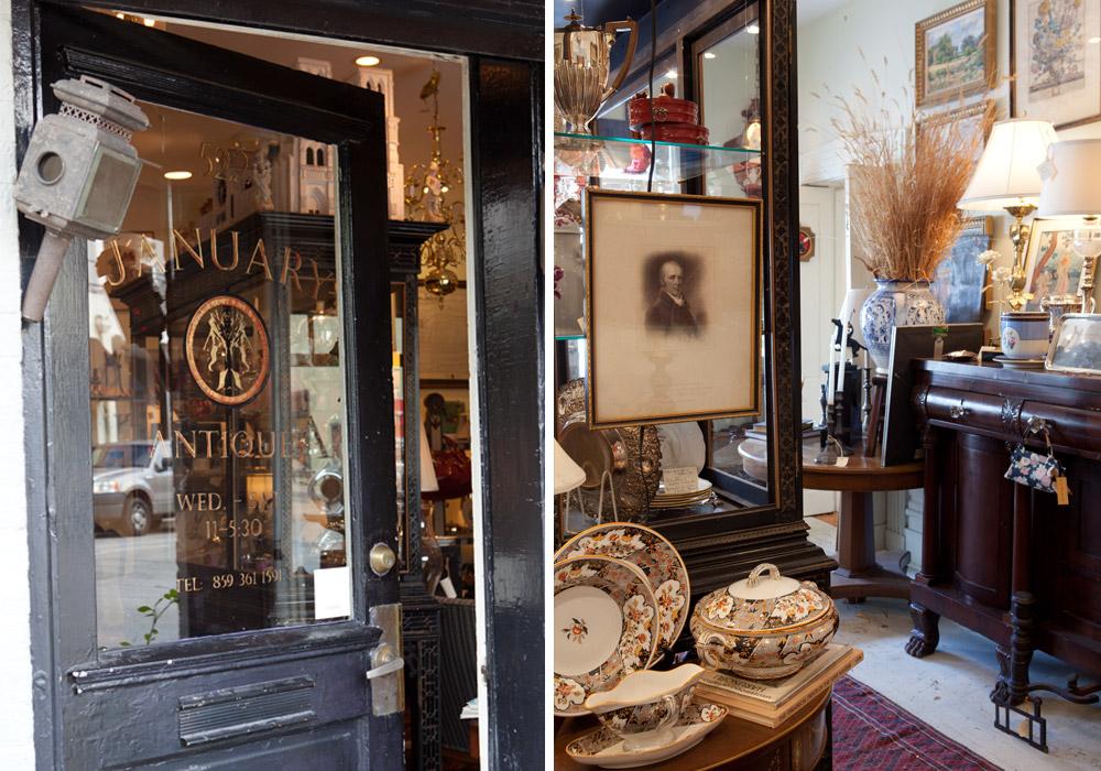 January Antiques, Lexington, Kate Sears