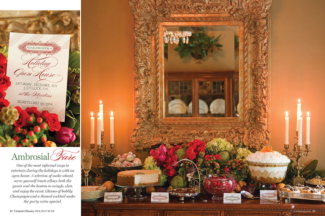 Holiday Bliss 2014 Victoria magazine