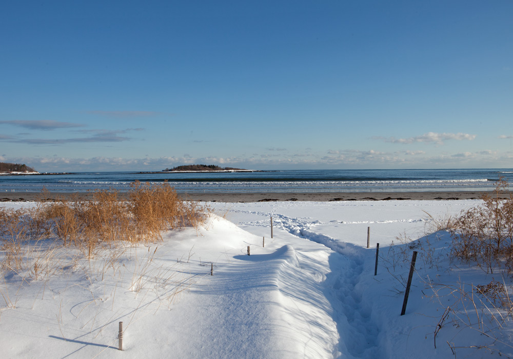 Kennebunks Beach Maine From Victoria Magazine