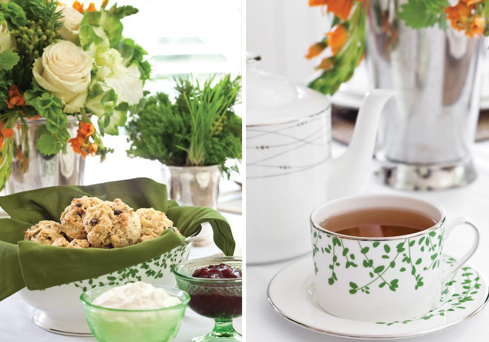 A St Patricks Day Tea Party Victoria Magazine