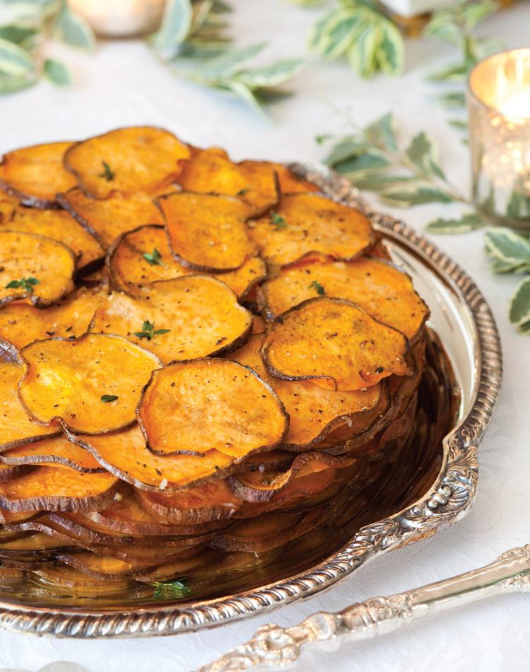 Side Dishes Sweet Potato Gratin