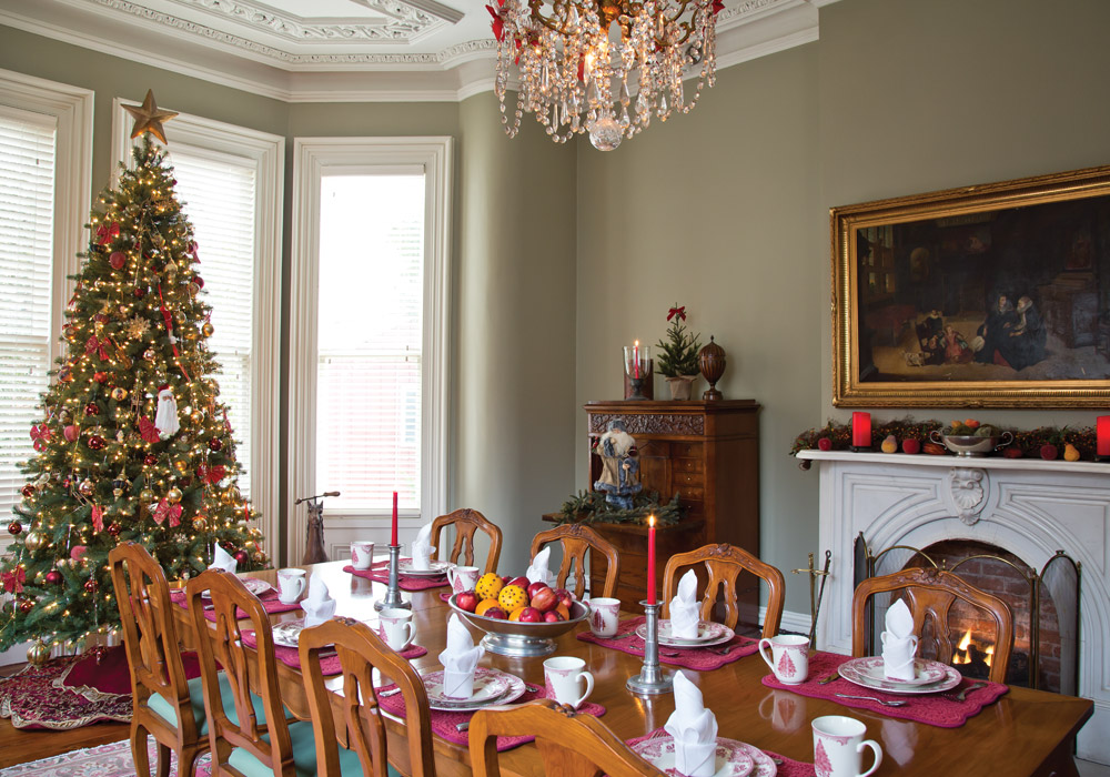 Boardman House Inn at Christmas