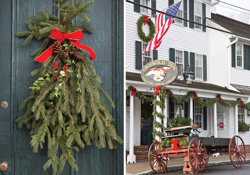 Griswold Inn at Christmas