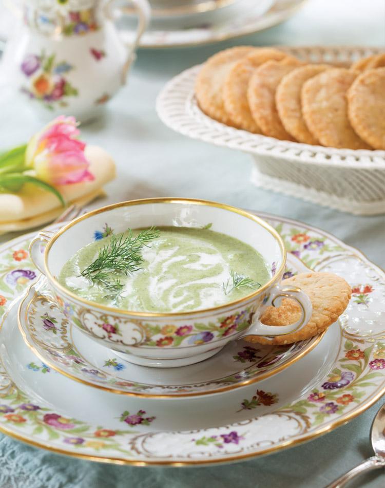 Buttermilk-Zucchini Soup