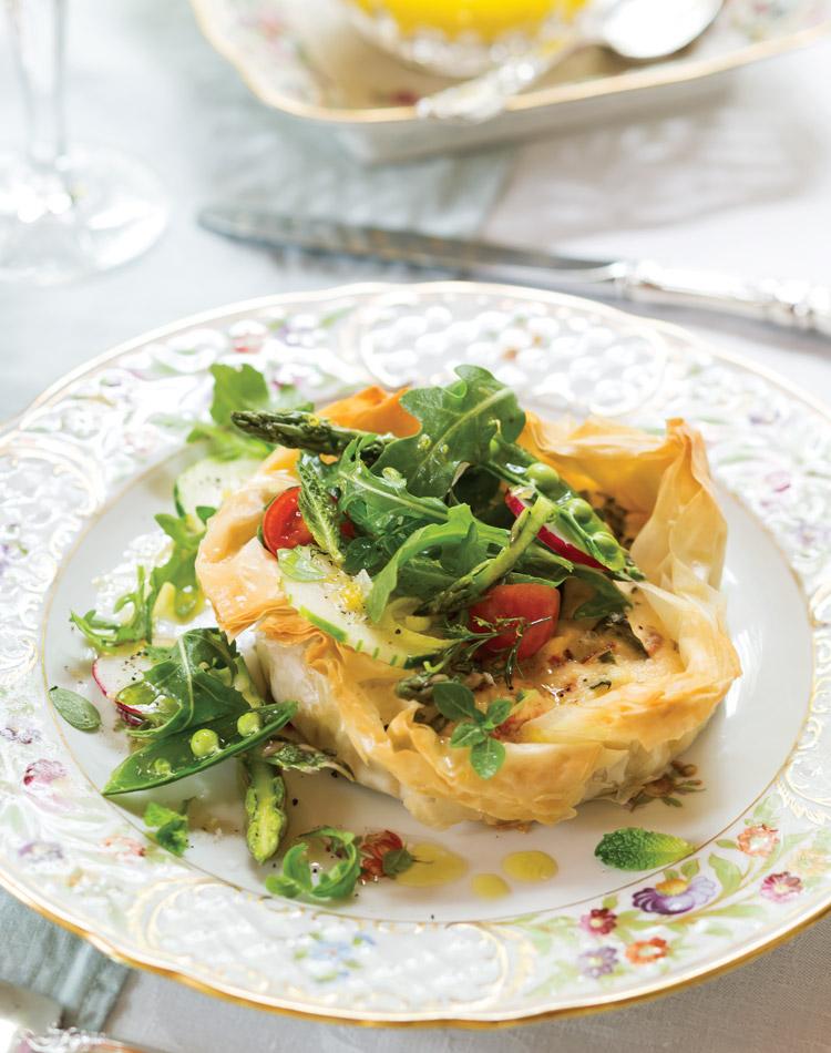 Chicken-Salad Cheesecake