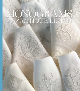 Monograms & Antique Linens Book Cover