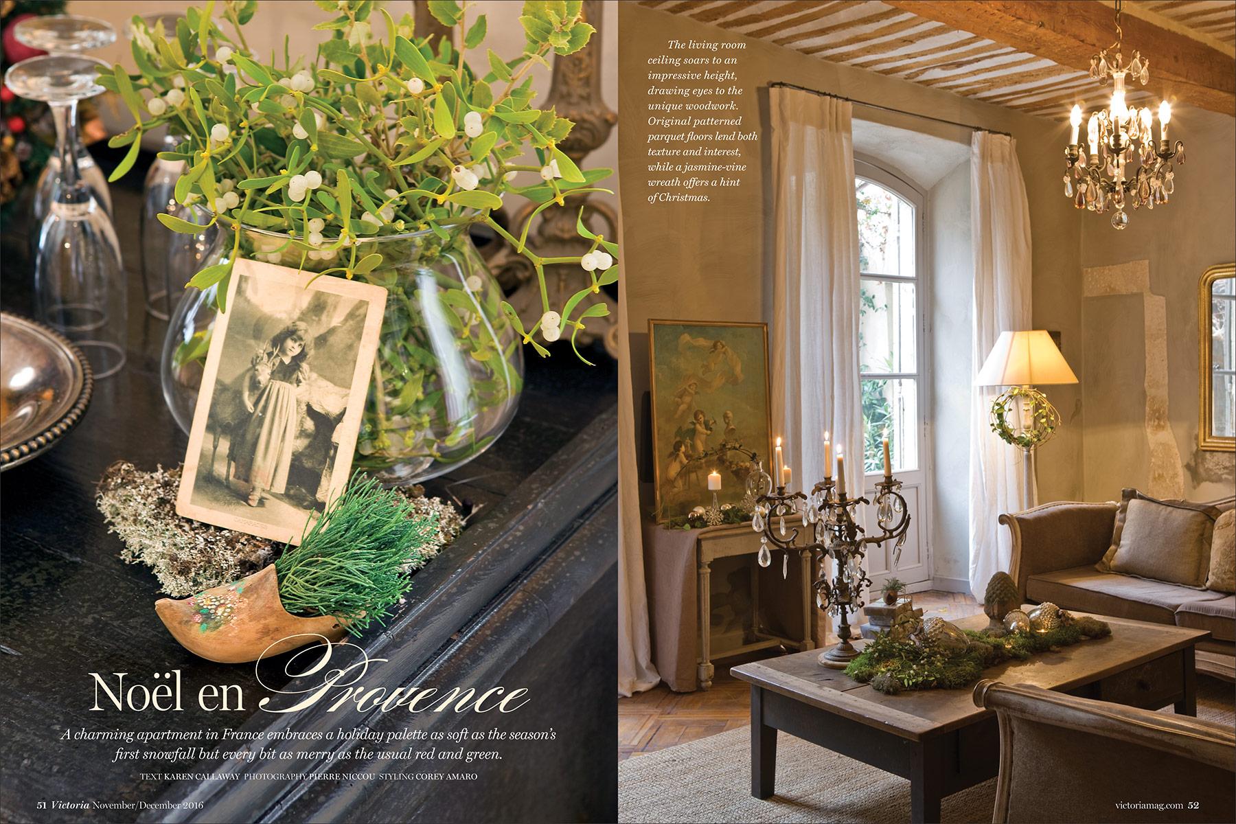 Pierres Et Tradition Apt november/december 2016: holiday issue - victoria magazine