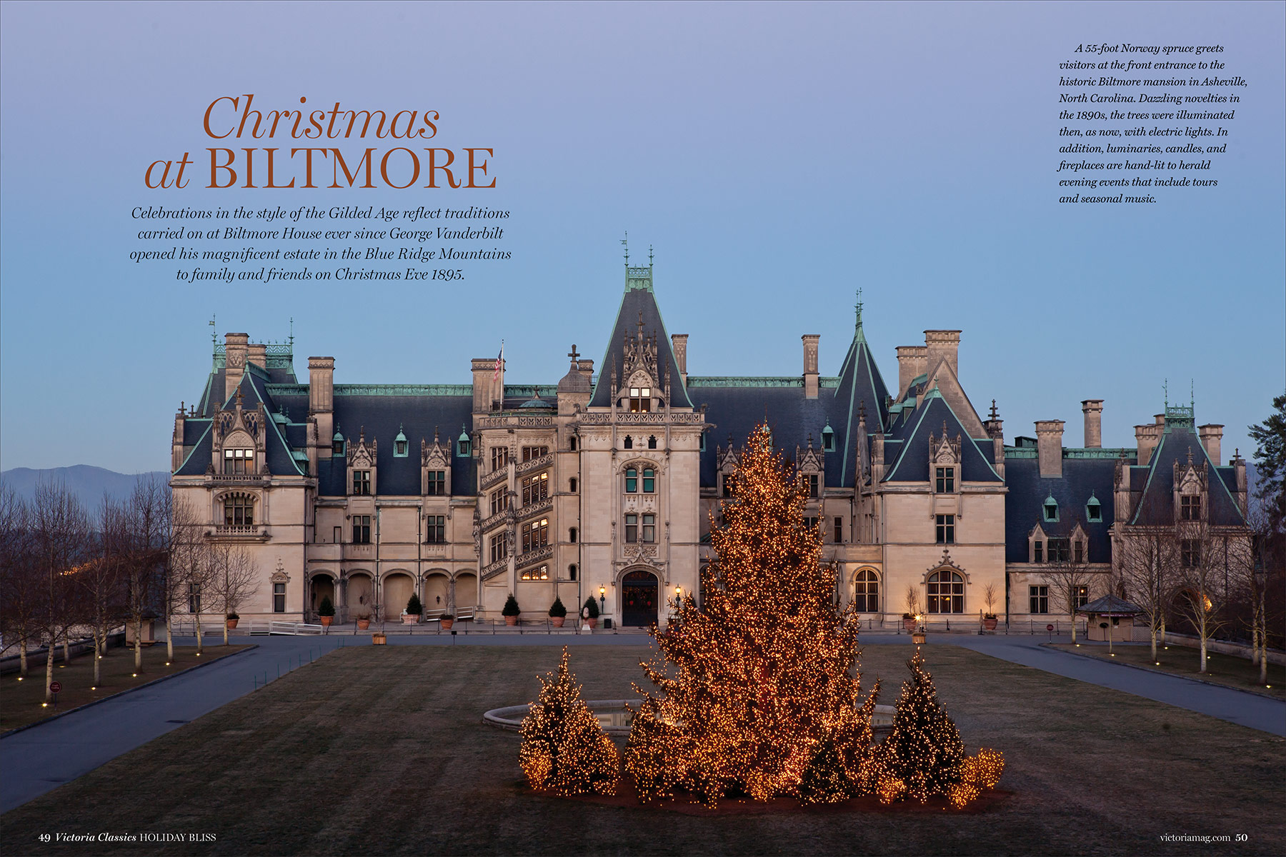 Preview the Holiday Bliss 2017 Issue - Victoria Magazine