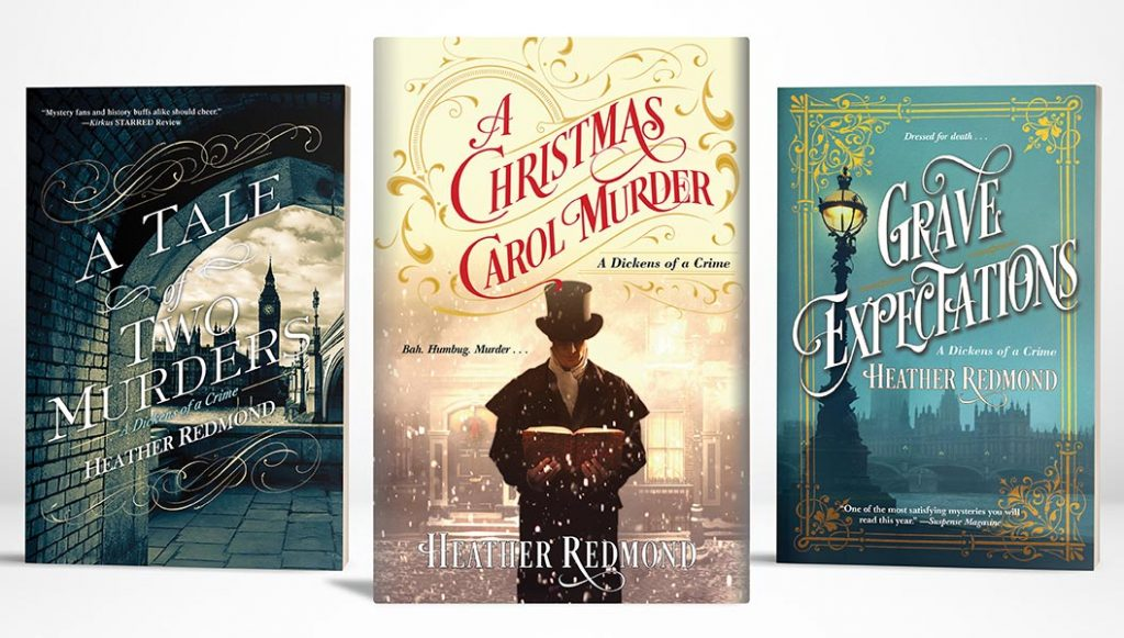 Dickens of a Crime Series by Heather Redmond