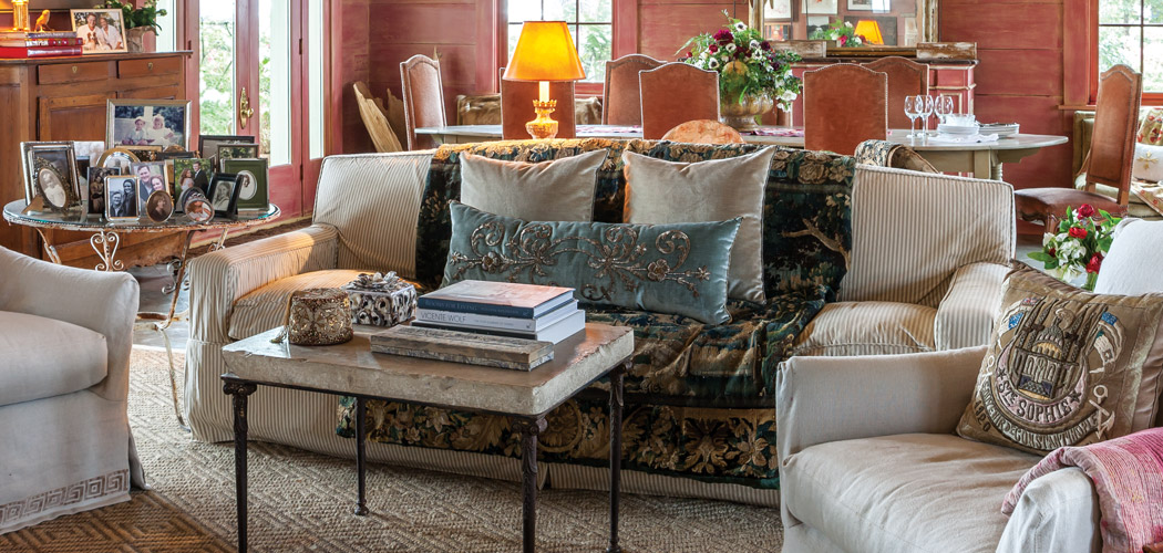 At Home with Antique Textiles