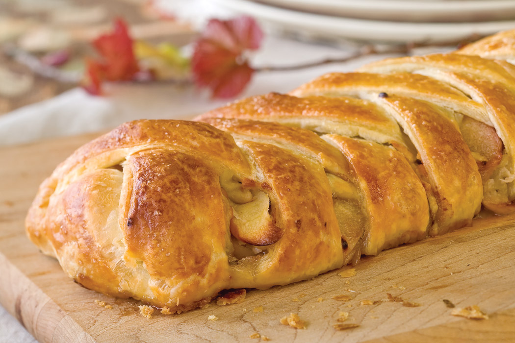 Savory Apple Strudel Recipe Victoria Magazine