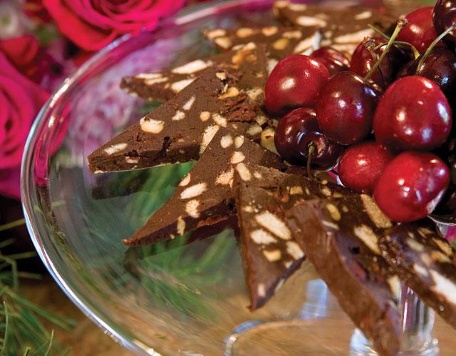 Chocolate-Cherry-Hazelnut-Terrine-Recipe