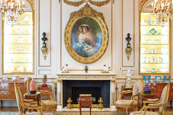 American heiress & philanthropist Marjorie Merriweather Post donated her lavish Hillwood Estate as a sanctuary dedicated to the celebration of beauty.