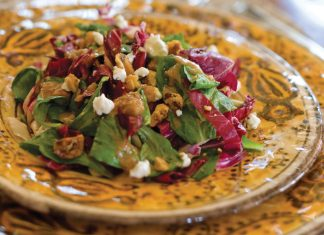 Mache-Radicchio-Salad-with-Chevre-Recipe