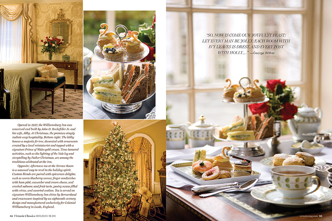 special christmas issue from victoria magazine
