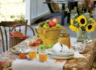 Fall Table Victoria magazine