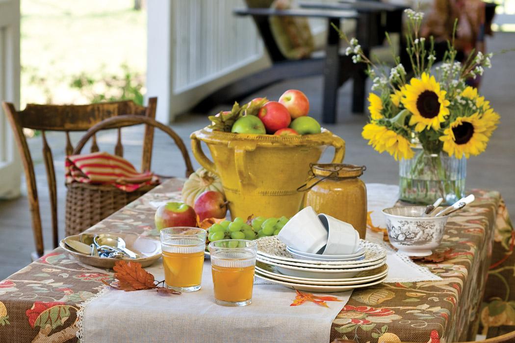 Fall Table Victoria magazine
