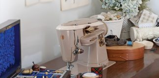 Sewing Table Victoria magazine