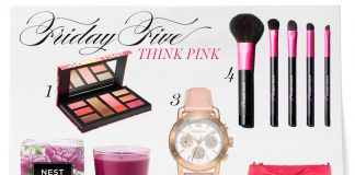 Friday Five: Think Pink