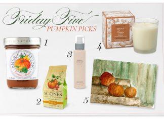 Friday Five Pumpkins Victoria magazine