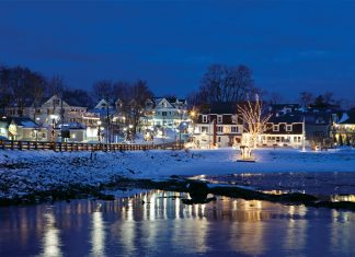 Kennebunkport, Maine from Victoria magazine