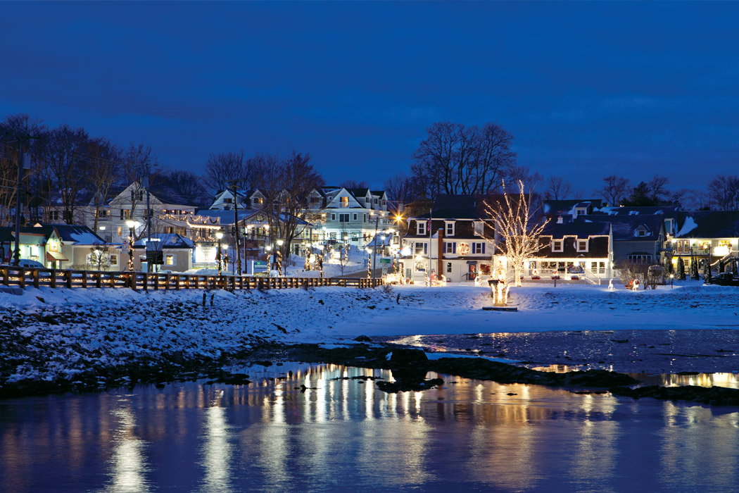 Christmas In Kennebunkport Maine