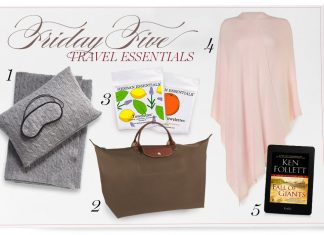 Friday Five: Travel Essentials