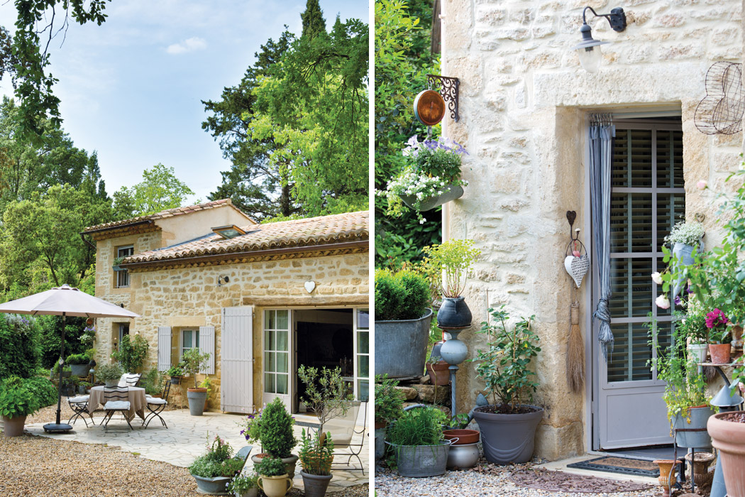 A french country style interior for French country architecture