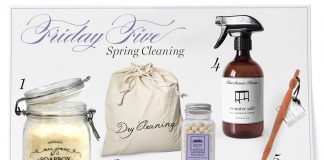Friday Five: Spring Cleaning Products