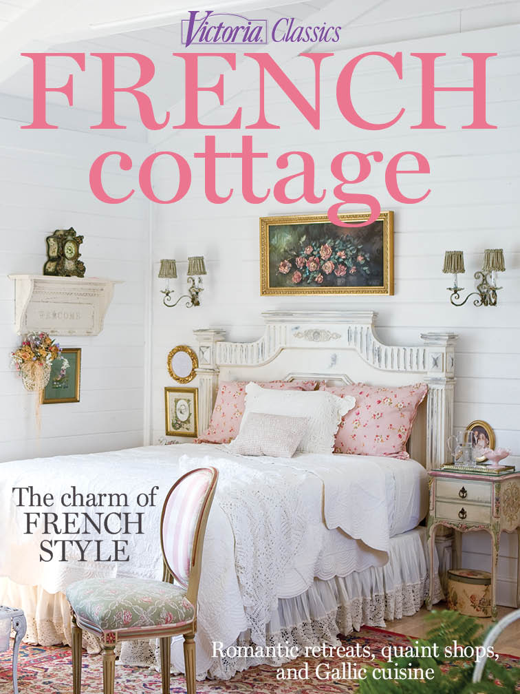 Victoria classics french cottage 2015 for Country cottage magazine
