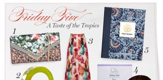 Friday Five Tropical Products