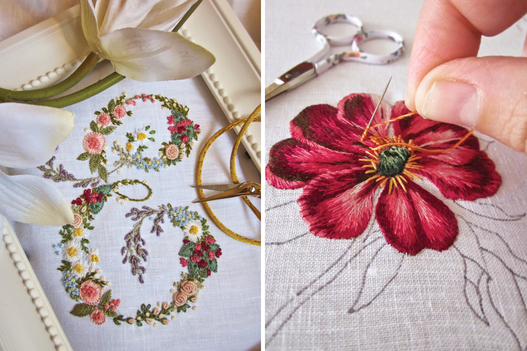 exquisite embroidery with elisabetta ricami a mano