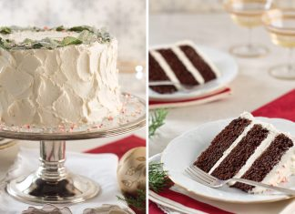 Peppermint Cake Winter Refreshment