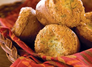 Garlic-and-Herb Popovers