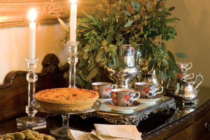 preparing the feast