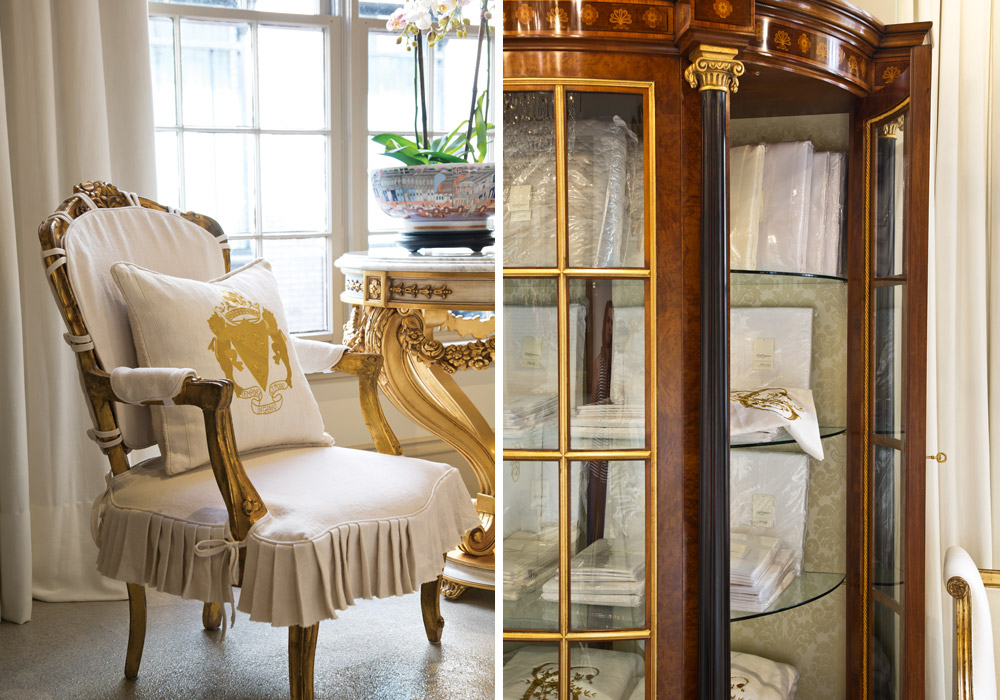 The stunning beth claybourn interiors victoria magazine for M furniture gallery new orleans