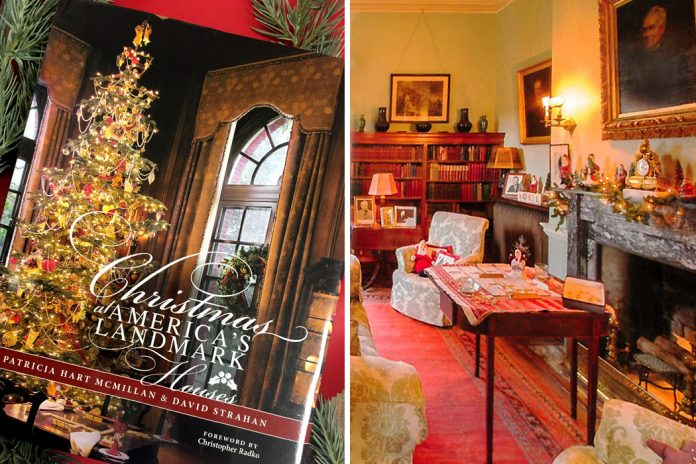 Christmas In America Book.Christmas At America S Landmark Houses Victoria Magazine