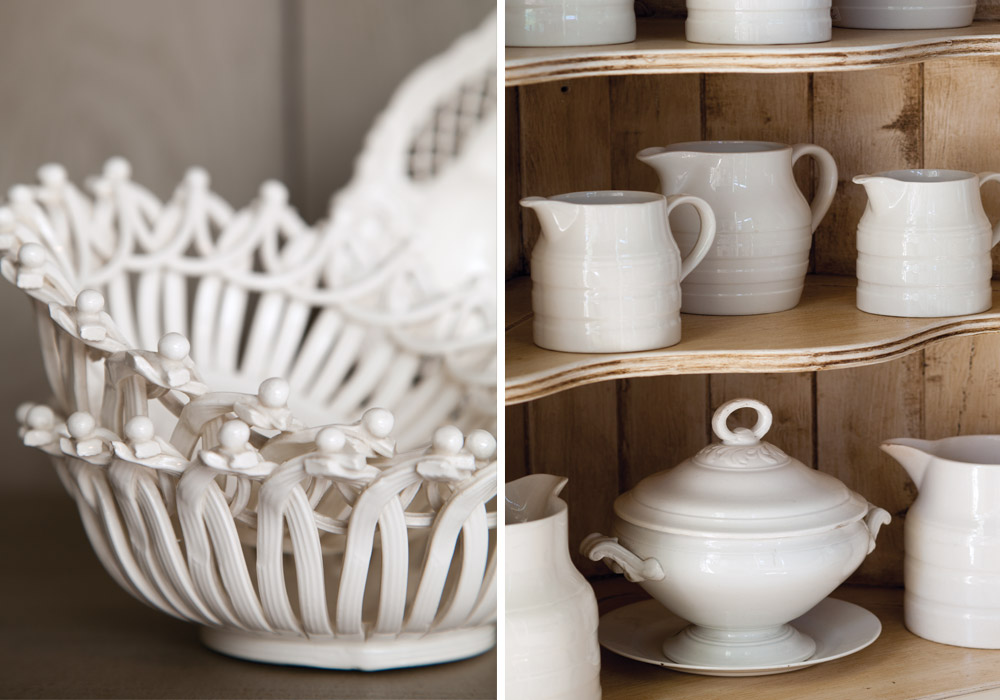 Palescapes: Whiteware