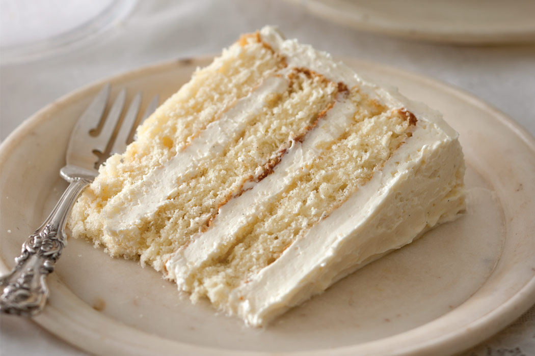 Vanilla Cake With Vanilla Frosting Recipe