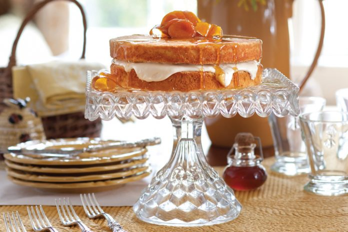 Honey Crème Fraîche Cake