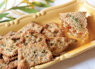 Honey Thyme Crackers