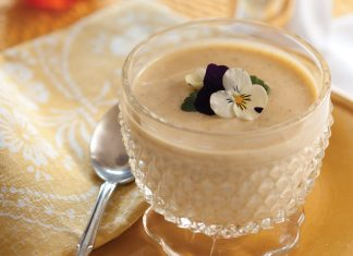 Honey-Infused Vanilla Pudding