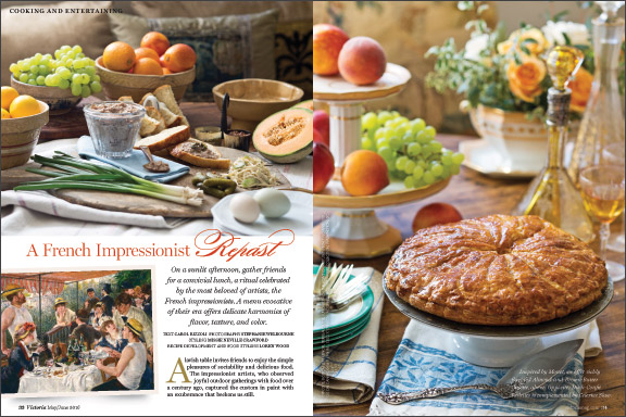 French Impressionist Meal Preview