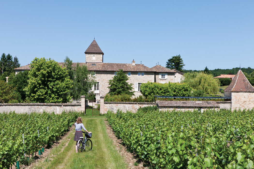 The Pastoral Setting of Burgundy