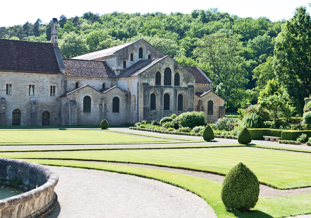 No trip to Burgundy would be complete without a visit to L'Abbaye de Fontenay, near Montbard