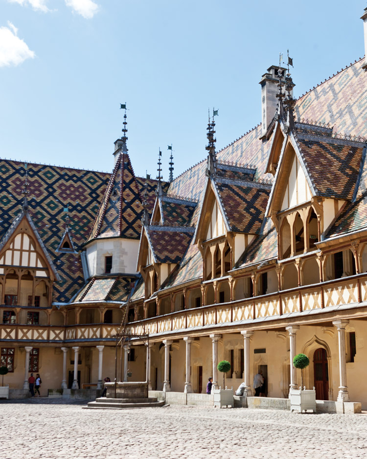 Hospices de Beaune in Burgundy, France