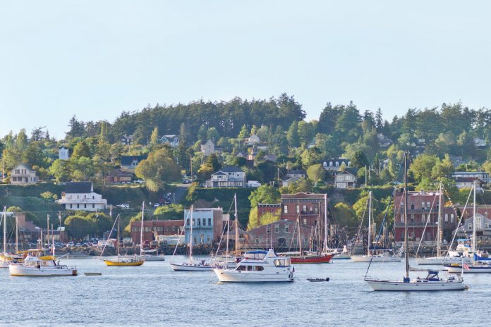 The coastal village of Port Townsend, Washington, nestles on the northeast point of the scenic Olympic Peninsula, just two hours from Seattle. It happily embraces technology and innovation, as does its nearby neighbor, yet maintains a close connection to its authentic Victorian-era charm.