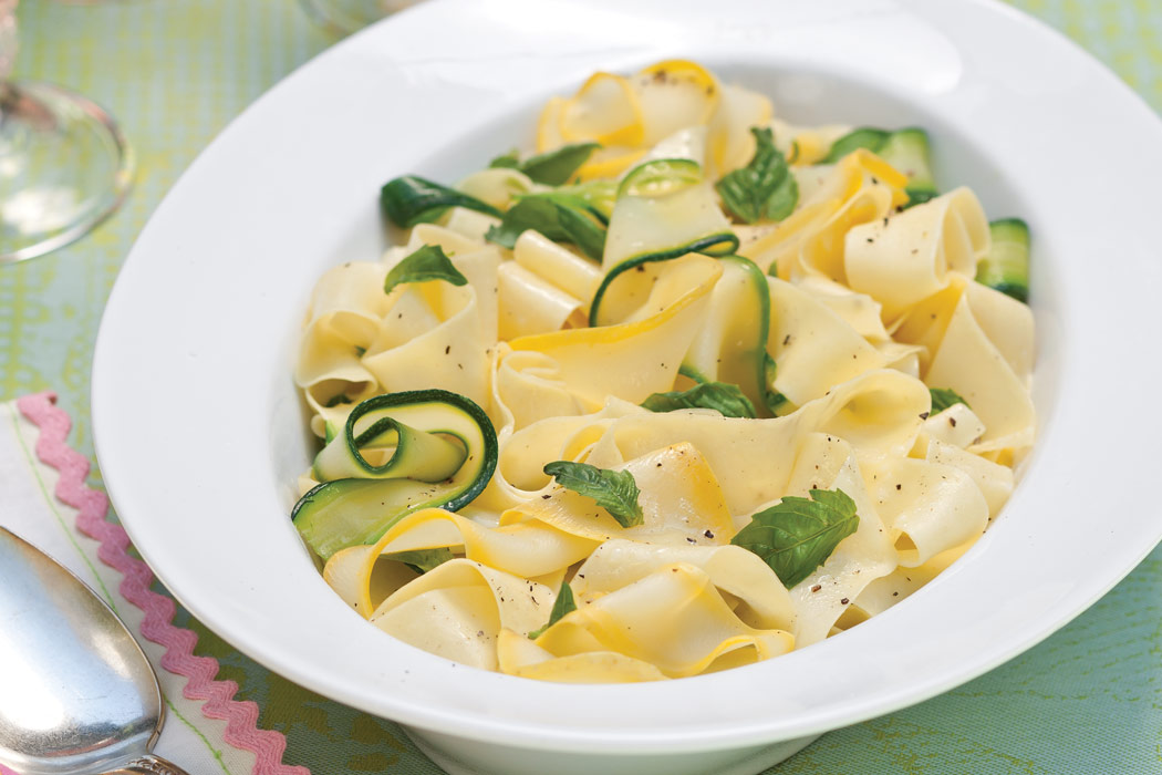 Squash Ribbons Recipe — Dishmaps