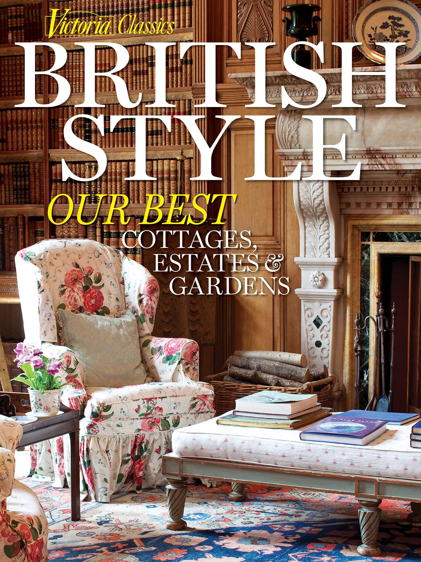 Victoria magazine classics british style 2016 for English home magazine customer service