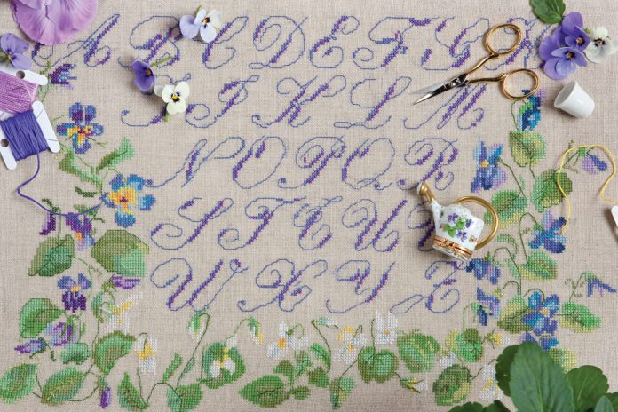 After years of shopping in France for beautiful needlework fabrics to nurture her love of embroidery, Lisa Dugua established The French Needle.